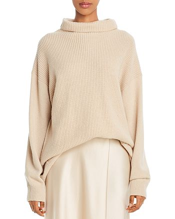 Alice and Olivia - Daphney Funnel-Neck Cashmere Sweater