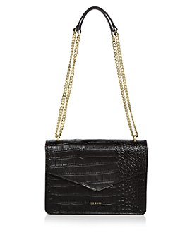 Ted Baker - Jaydaa Croc-Embossed Convertible Crossbody