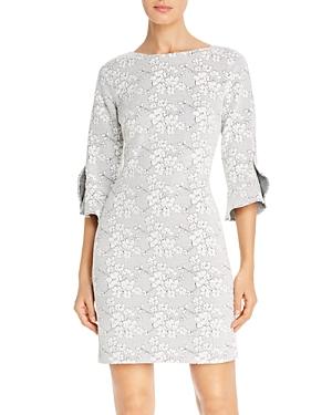 Karl Lagerfeld Paris Floral Knit Dress-Women