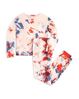 Splendid - Girls' Seaside Tie-Dye Top & Tie-Dye Jogger Pants - Big Kid