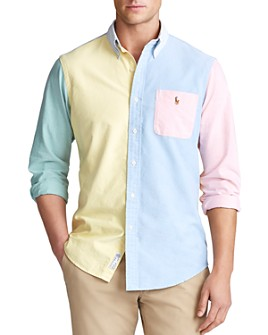 Polo Ralph Lauren - Classic Fit Oxford Color-Block Shirt