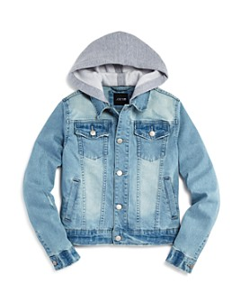 Joe's Jeans - Boys' Hooded Denim Jacket, Little Kid - 100% Exclusive