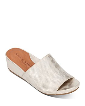 Gentle Souls by Kenneth Cole - Women's Gisele Wedge Heel Slide Sandals