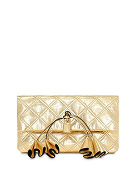 MARC JACOBS - Metallic Leather Clutch