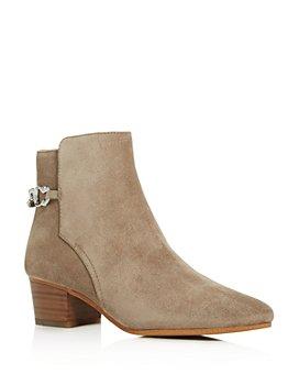 COACH - Women's Carissa Block-Heel Booties