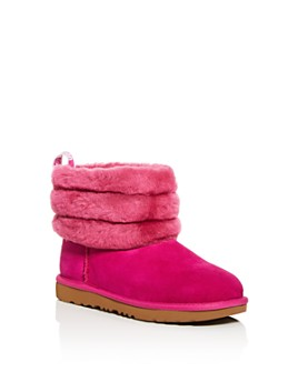 UGG® - Girls' Fluff Mini-Quilted Shearling Boots - Little Kid, Big Kid