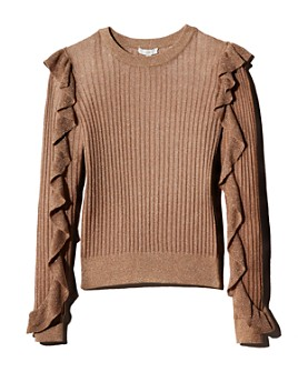 Joie - Beza Metallic Rib-Knit Sweater