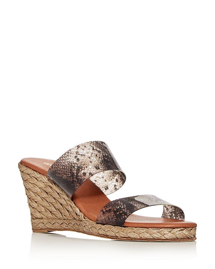 Andre Assous - Women's Anfisa Wedge Slide Sandals