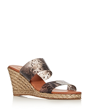 Andre Assous Women\\\'s Anfisa Wedge Slide Sandals