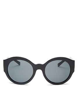 Versace - Women's Oversized Round Sunglasses, 54mm