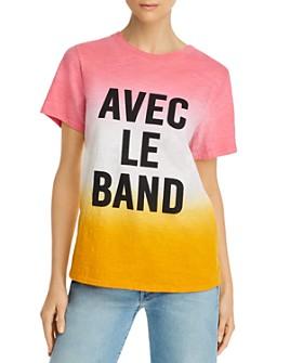 Cinq à Sept - Cotton Avec Le Band Dip-Dyed T-Shirt