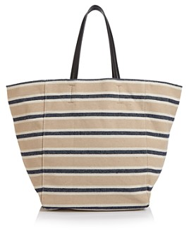 AQUA - Canvas Over-Sized Tote - 100% Exclusive