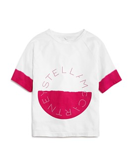 Stella McCartney - Girls' Dip-Dye Graphic Tee - Little Kid
