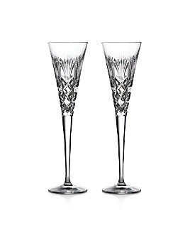Waterford - 2020 Times Square Holiday Flute, Pair