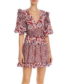 Saylor - Laci Floral Mini Dress
