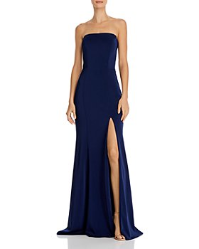 Faviana Couture - Faille Satin Strapless Gown
