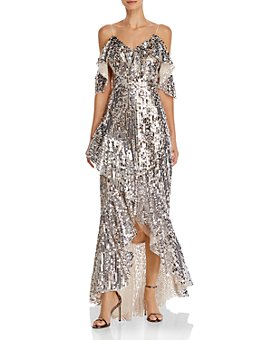 Laundry by Shelli Segal - High/Low Sequin Gown- 100% Exclusive