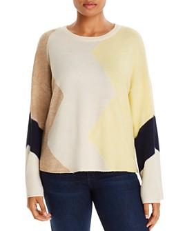 Vero Moda Curve - Color-Block Sweater