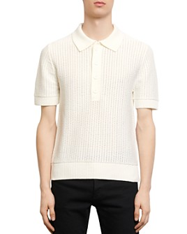 Sandro - Pagnol Polo-Style Sweater