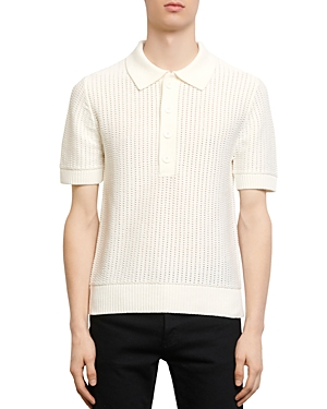 Sandro Pagnol Polo-Style Sweater