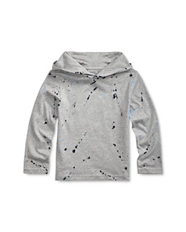 Ralph Lauren - Boys' Paint-Splatter Hooded Tee - Little Kid