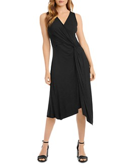 Karen Kane - Sleeveless Handkerchief-Hem Dress