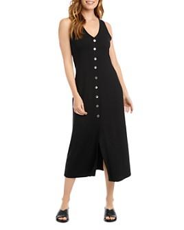 Karen Kane - Alana Button-Front Midi Dress