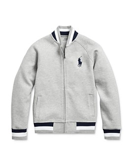 Ralph Lauren - Boys' Double-Knit Baseball Jacket - Big Kid