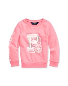 Ralph Lauren - Girls' Graphic Sweatshirt - Little Kid