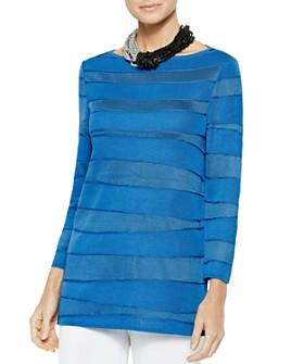 Misook - Ocean Wave Knit Tunic