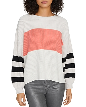 Sanctuary Playful Striped Sweater-Women