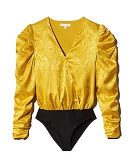WAYF - Sav Puff-Sleeve Bodysuit