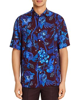 Paul Smith - Floral-Print Slim Fit Shirt
