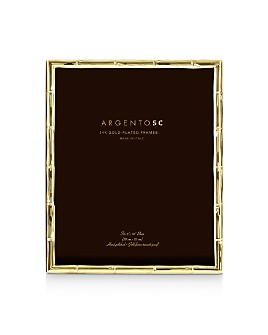 """Argento SC - Bamboo Gold 8"""" x 10"""" Picture Frame"""