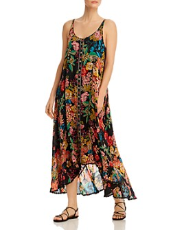 Johnny Was - Logan Sleeveless Floral-Print Maxi Dress
