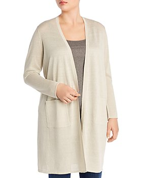 Eileen Fisher Plus - Simple Cardigan