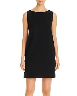 Eileen Fisher - Sleeveless Textured Shift Dress