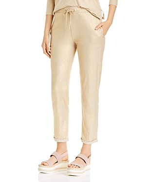 Majestic Filatures Linen Stretch Jogger Pants