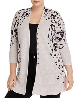 NIC and ZOE Plus - Plus Spot On Cardigan