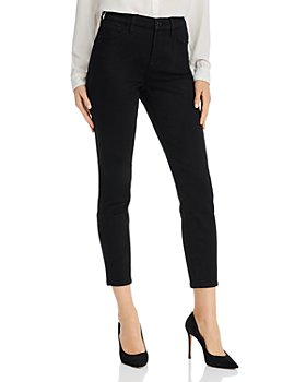 7 For All Mankind - Skinny Ankle Jeans in Classic Black Noir