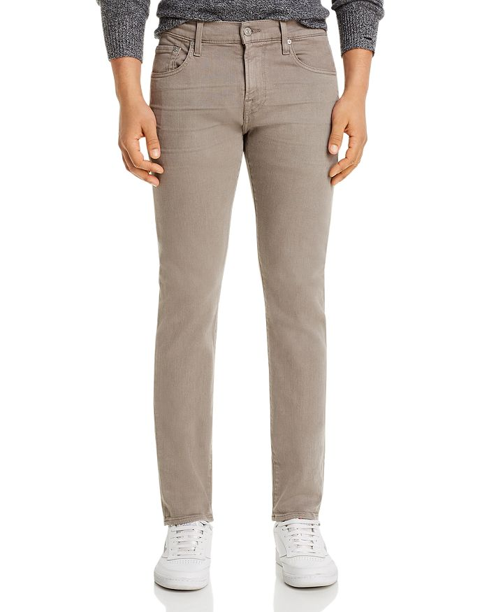 7 For All Mankind - Paxtyn Skinny Fit Jeans in Sleet