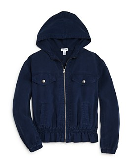 Splendid - Girls' Hooded Twill Jacket - Big Kid