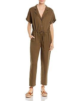 Elan - Button-Front Jumpsuit
