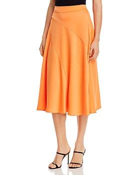 Vero Moda - Gabbi Seamed-Front Slip Skirt