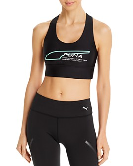 PUMA - Evide Crisscross Cropped Top