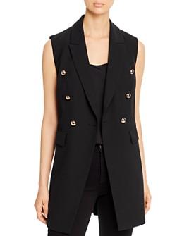 T Tahari - Double-Breasted Vest