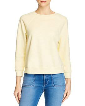 AG - Jadyn Cotton French Terry Sweatshirt - 100% Exclusive