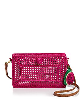 SERPUI - Charlotte Straw Clutch
