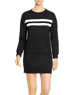 Marc New York - Striped Sweatshirt Dress