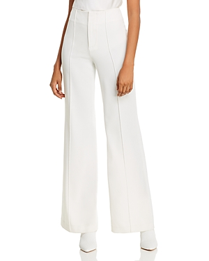 Alice And Olivia ALICE + OLIVIA DYLAN WIDE-LEG PANTS
